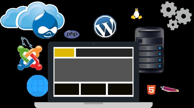 1 klik installatie hosting